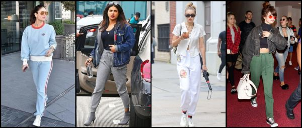Style Mein Rehne Ka: 10 Times Celebrities Made Sweatpants Look Reallyyyy Chic!