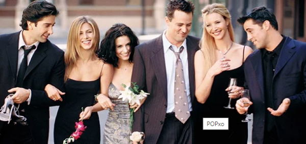 Friends - A Still From Famous Tv Series On Friendship