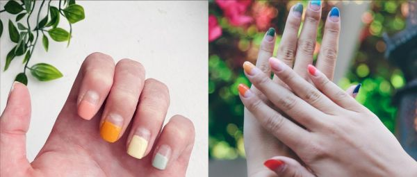 #ManiMonday: The Half-Dipped Nail Trend Has Taken The 'Gram By Storm & We're Here For It!