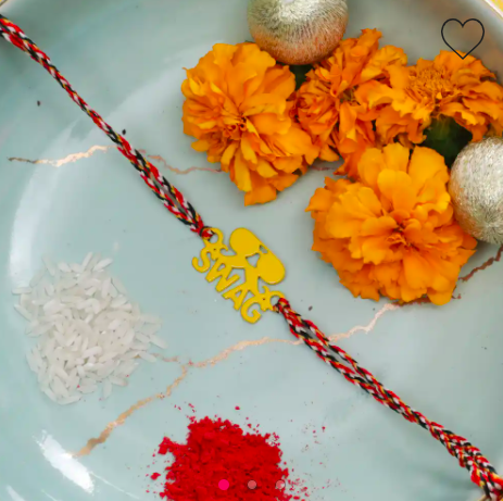A unique rakhi gift - swag rakhi for your brother