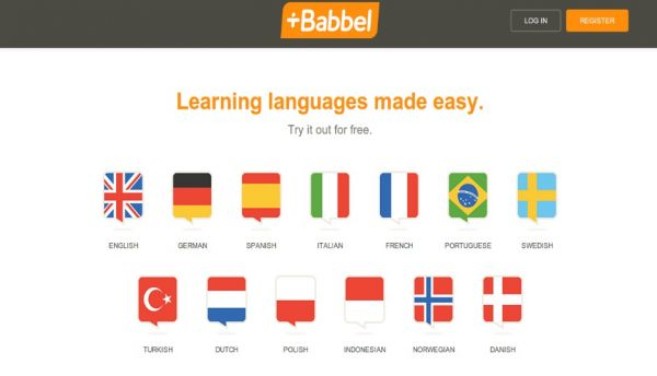 Babbel app for learning languages