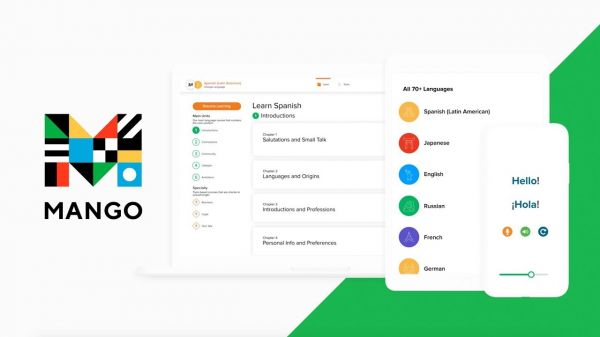Mango- best app to learn a new language