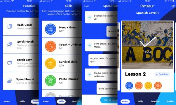 Pimsleur - best app to learn a new language