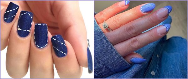 Meet Denim Nails, The Latest Trend That's All Over Instagram & Soon, Your Hands Too!