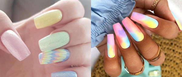 Move Over Neon: Tie-Dye Nails Are Back & It's Time We All Add Some Colour To 2020