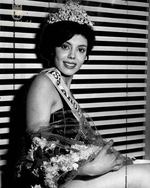 Norma Cappagli was won the title miss world winner 1960 for UK