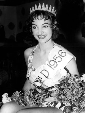 Petra Schürmann was the first german to bag the title of Miss World 1956