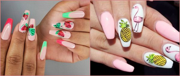 Colour Me Fruity: DIY Nail Art Inspiration To Brighten Up Gloomy Monsoon Days