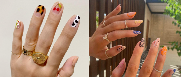 The Mismatched Trend Is Here To Add A Lot Of Colour To Your Life, And Nails!