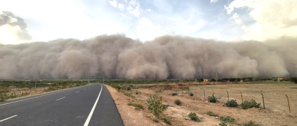 Apocalypse, Is That You? Videos On Twitter Show A Massive Sandstorm Engulfing Jaisalmer