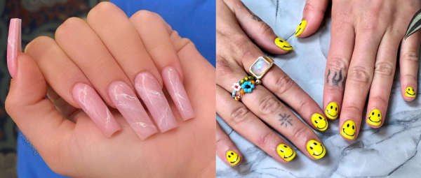 Bored Of Plain Manis? Step Up Your Nail Game With These Not-So-Basic Celebrity Manicures