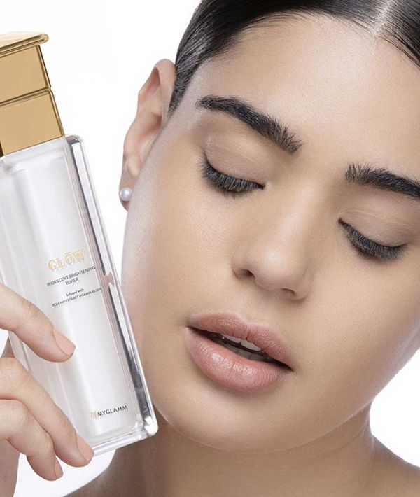 Applying a gentle, soothing toner after cleansing your face can reduce the appearance of large pores
