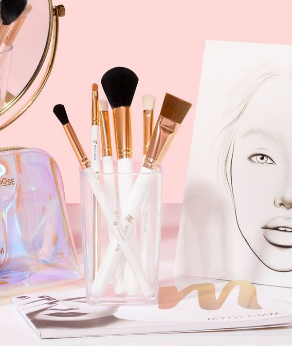 Clean your makeup brushes regularly