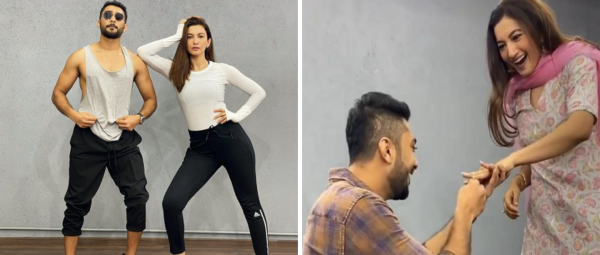 Romance In The Air: Did Gauahar Khan Just Get Engaged To Her Rumoured BF Zaid Darbar?