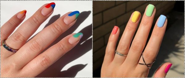 Candy Nails Are All You Need To Add A Burst Of Colour To Your Pandemic Days!