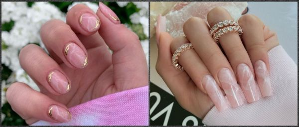 #ManiMonday: Rose Quartz Manicure Is The Latest 'It' Trend In The Beauty World