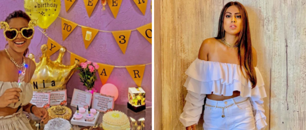 18 Cakes & A Room Full Of Gifts: Nia Sharma's Midnight Birthday Bash Was So Much Fun!