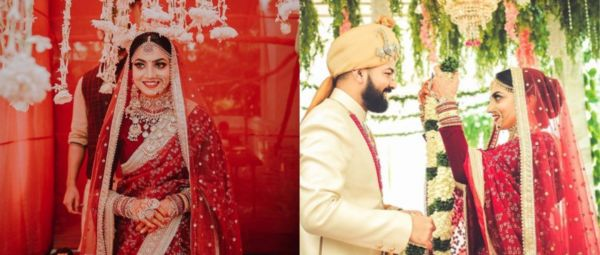 Classic & How! This Bride's Traditional Red Saree Will Leave You Lovestruck