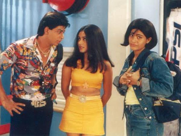Rani Mukherjee in co-ords in Kuch Kuch Hota Hai