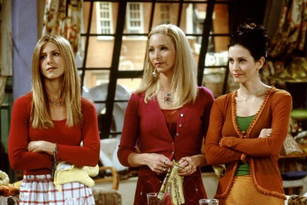 The trio as seen in the popular sitcom
