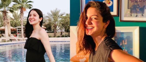 Mom-To-Be Anushka Sharma Makes A Splash With Classic Swimwear Added To Her Maternity Style