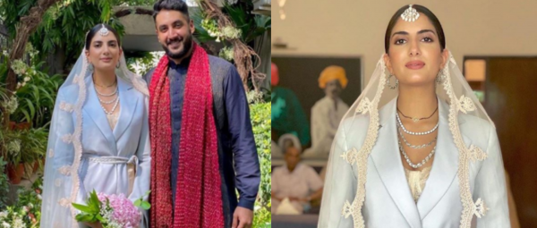 This Bride Chilla Ditched Mehenga Lehenga For A Pantsuit On Her Wedding
