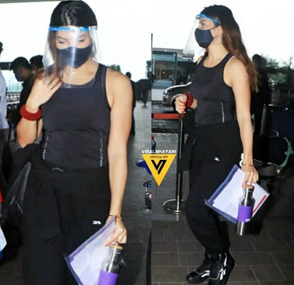 Jacqueline Fernandez in latest airport look