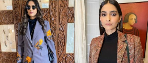 The 'Skirt+Blazer' Uniform Is Here & It's Staying, Courtesy Sonam Kapoor's London Style