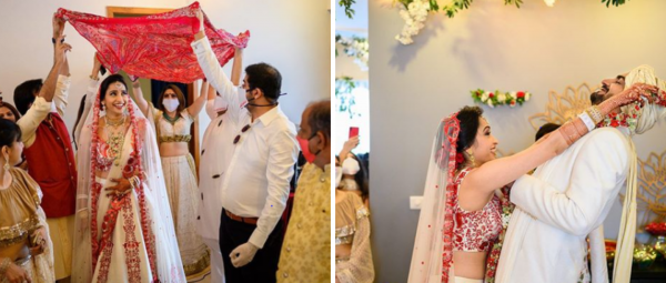 This Couple Had All Their Shaadi Ceremonies At Home & The Pics Are So Full Of Mush