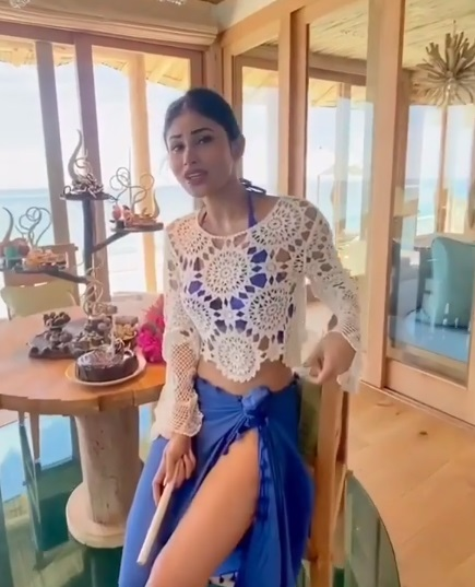 Mouni Roy beachwear
