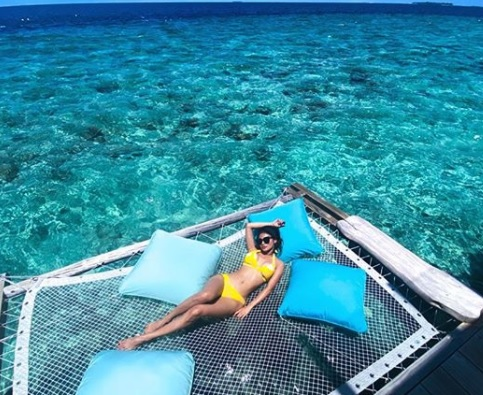 Mouni Roy in the Maldives