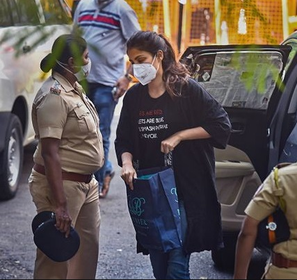 Rhea Chakraborty granted bail by the Bombay high court