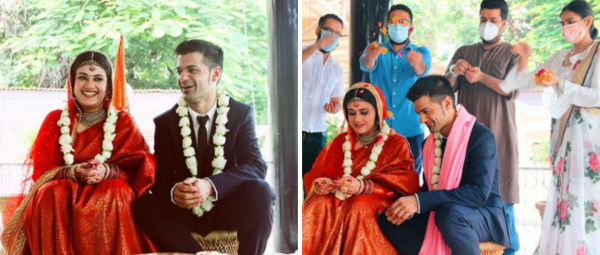 Shaadi Goals: This Bride's 'COVID Special' Wedding Proves That Love Is All That Matters!
