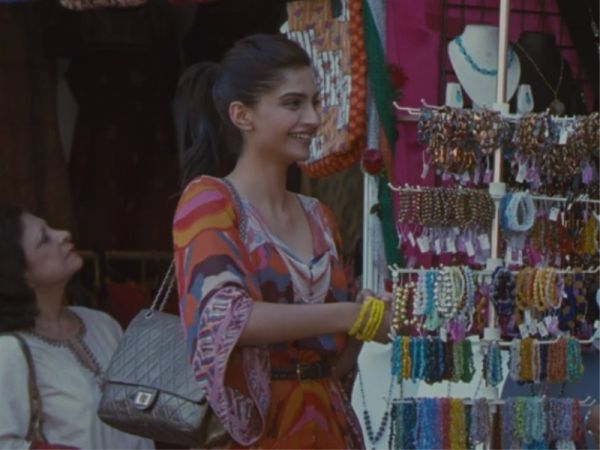 For the movie Aisha, Sonam Kapoor was styled by Pernia Qureshi