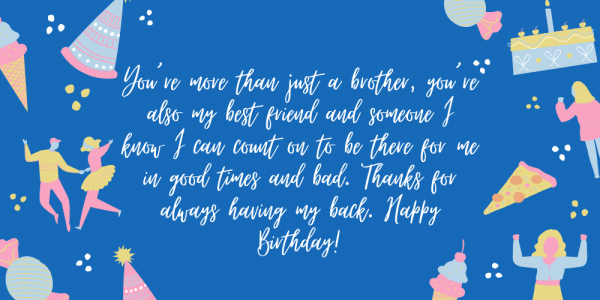 65 Best Birthday Wishes For Brother Quotes Messages Popxo