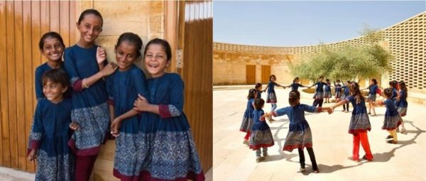 Sabyasachi Designs School Uniforms For Girls In Rajasthan & The Pictures Have Our Hearts!