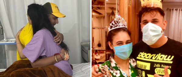 Prince Narula & Yuvika Share Pictures From Hospital & We Wish Them A Speedy Recovery