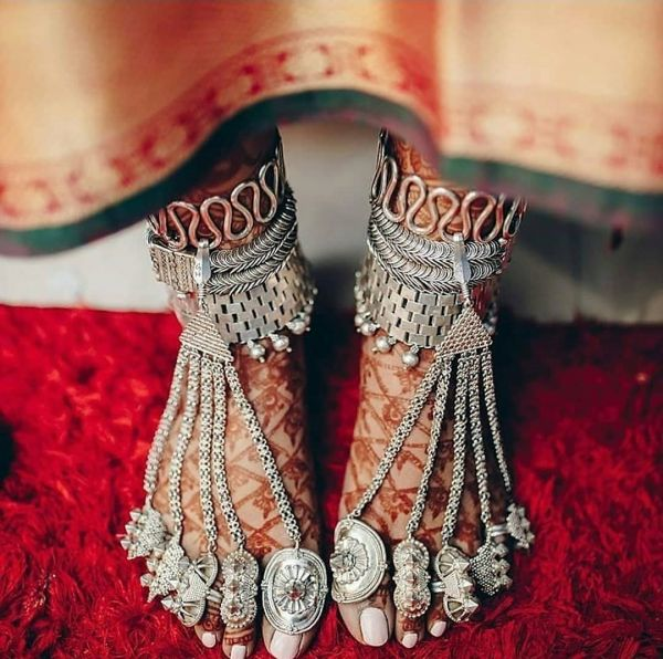 Latest payal designs for brides
