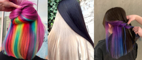 Let's Go Undercover: This New Hair Trend Is Just What We Need In 2020