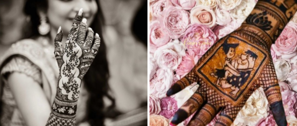 12 Cute Ways To Get Creative With Your Bridal Mehendi Designs & TBH, We Love Them All!