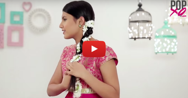 3 Beautiful (And Super Easy) Hairstyles With A Gajra!