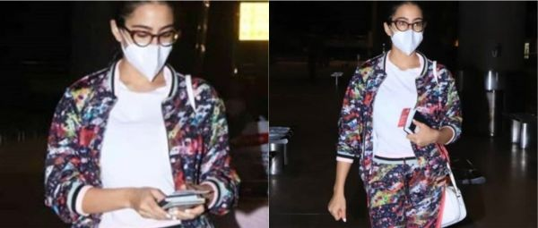Oh Damn! Sara Ali Khan's Recent Airport Look Had A Blinding Print & We Are Wondering Why