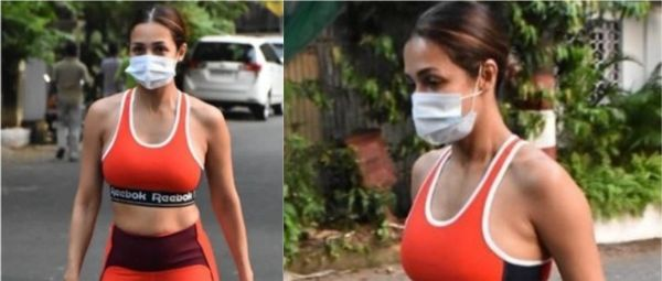 Red Hot! Malaika Arora's Athleisure Pick Doubles Up As At-Home Attire (Amongst Others)