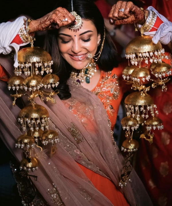Kajal Aggarwal Wedding Makeup