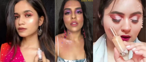 #MagicPotionSparkle: We're Obsessed With This Sparkling New Makeup Challenge On The 'Gram!