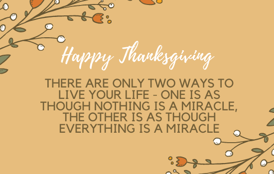 Sweet and heartfelt Message For Thanksgiving