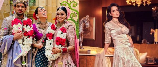 So Stunning! Kangana Ranaut Just Gave Us Some Solid Sister Of The Groom Style Inspiration
