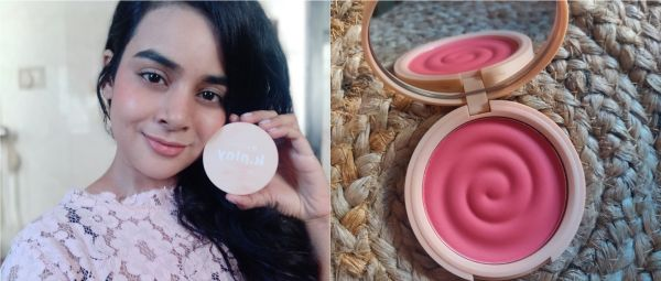 K.Play Flavoured Blush by MyGlamm Frozen Raspberry review