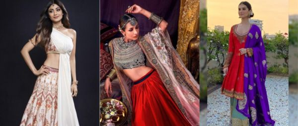 8 Dupatta Drapes From B'wood To Steal The Show For The Intimate Weddings This Season