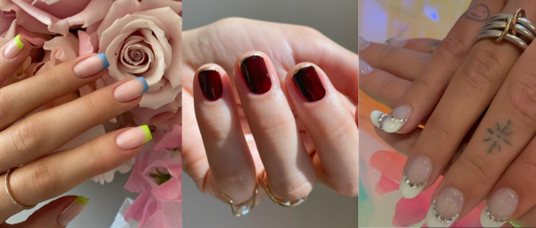 Love Your French Manicures? Here Are 6 Unconventional Ways To Rock This Classic Mani